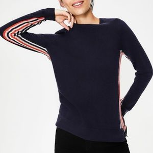 NWT Boden Crewneck Cashmere Sweater, size S